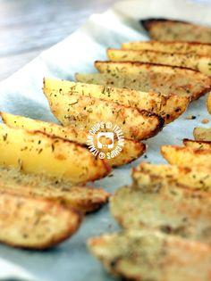 Irresistible Garlic Potatoes -