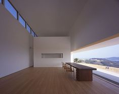 Love the view.   Is this to minimalist ?         HIC Arquitectura » Tezuka Architects > Atelier in Ushimado