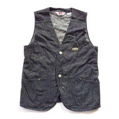 "35 Likes, 5 Comments - @hochiminhvintage on Instagram: ""Ben Davis Denim Vest #bendavis #hochiminhvintage #shop #"""