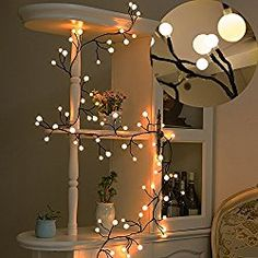 Best Gifts For 12 Year Old Girls Homemade Xmas Decorations, Light Decorations, Room Lights, Led Puck Lights, Ceiling Lights, Ceiling Fans, Globe Decor, White String Lights, Globe String Lights