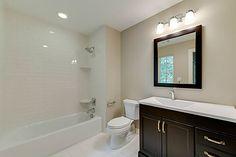 bathtub tile, basic, neutral