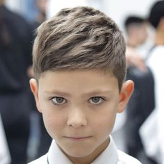Textured Short Crop Top + Taper Fade - Best Little Boy Haircuts: Cute Toddler Boy Hairstyles - Short, Medium, Long Haircuts and Styles For Kids Trendy Boys Haircuts, Cute Toddler Boy Haircuts, Boy Haircuts Short, Little Boy Hairstyles, Boys Long Hairstyles, Haircuts For Men, Hairstyles Haircuts, Haircuts For Little Boys, Young Boy Haircuts