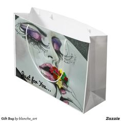 Get full colour gift bags from Zazzle. Each one of our gift bags is decorated with fantastic designs, images or artwork. Large Gift Bags, Artwork, Stuff To Buy, Color, Design, Colour, Work Of Art, Design Comics, Colors