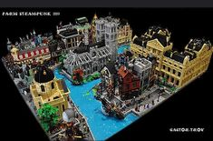 Wow look at all the amazing details in this Steampunk Paris layout by Castor Troy on Flickr. . . . Live links to original posters pages are in the gallery on my web site (often a few days behind IG). Link in bio. #LEGO #LEGOarchitecture #Legobuilding #Legohouse #legophotography #legostagram #legos #legoideas #legophoto #lionsgatemodels #legomania #legomoc #instalego #legocity #afol #legotown #legomodular #legobuilder #legocreator #legopic #legofan #legoaddict #brickstagram #legomocs…
