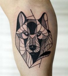 Geometrical Black Tattoos of Animals – Fubiz Media