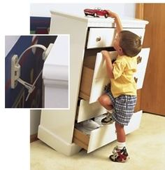 BABY FURNITURE SAFETY - Furniture Safety Brackets-Need this!  and read this blog! http://lovelightlaughterandchocolate.blogspot.com/2012/12/be-with-me-just-for-today.html#
