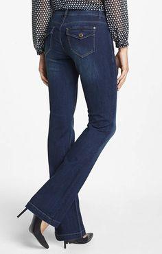 MIH flare jeans - non skinny jeans on redsoledmomma.com | denim ...