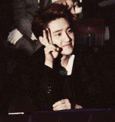 This Kyungsoo gif is too squishy you know #kyungsoo #D.O #exo