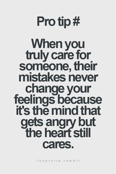 My heart will ALWAYS care!! I will always care, But sometimes you have to take a step back.