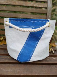 Windward Sailbags Recycled Sail Exclusive Small Bucket Tote Bag  | eBay