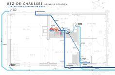 le plan de plomberie RDC: