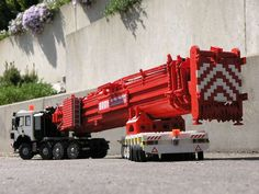 Mercedes-Benz / NAW SK 3550 8x4/4 with Modular Platform Trailer | by Engineering with ABS