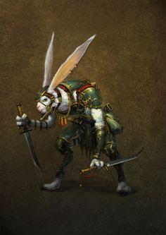 Fantasy Art by winb Fantasy Races, Fantasy Warrior, Fantasy Rpg, Medieval Fantasy, Character Creation, Character Concept, Character Art, Concept Art, Fantasy Creatures