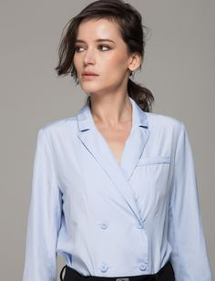 27 Collared Shirts You'll Actually Want to Wear Outside the Office via Brit + Co. y