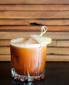 Brown butter-infused whiskey takes some time to make, but the decadence of the cocktail makes the effort worthwhile.… #cocktailrecipes