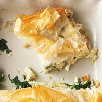 Chicken and Spinach Phyllo Bake..  this is what I am serving tonight...My kids love it!