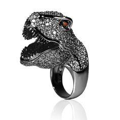 nOir TRex ring