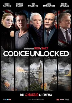 Michael Douglas, John Malkovich, Toni Collette, Orlando Bloom, and Noomi Rapace in Unlocked Free Films Online, Movies Online, Netflix Movies To Watch, Hd Movies, Streaming Hd, Streaming Movies, See Movie, Film Movie, Amazon Prime Movies