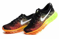 Cheap Nike Flyknit Air Max Sale - Special Nike Air Max Flyknit Black Orange Shoes On Sale All Nike Shoes, Nike Shoes For Sale, Nike Shoes Cheap, Nike Shoes Outlet, Running Shoes Nike, On Shoes, Sports Shoes, Adidas Cap, Cheap Nike Trainers