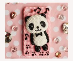 Beads cute bear  Iphone case and iphone cover