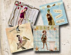 These vintage children coaster images are perfect for making one of a kind coasters. You can use this digital collage sheet to make your own coasters, journal sheets, scrapbooking and more.