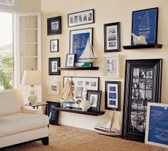 wall photo arrangements | Creating a Wall Arrangement - InstantShadeAwning : InstantShadeAwning