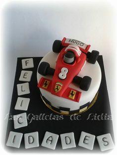 Cupcakes, Fondant Decorations, Guinness, Birthday Cakes, Cake Ideas, Ferrari, Desserts, Clay, Fondant Cakes