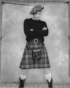 Ewan McGregor, any man can wear a kilt, you can even design your own tartan!