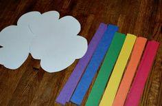 Rainbow Craft for Noah's Ark. God always keeps his promises!