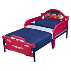 Delta 3D Toddler Bed - Cars