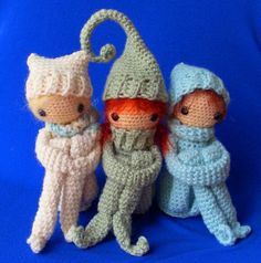 If you can't find an elf (or to make it more special), crochet your own..... or sew, or knit. You can make it any color and make it a boy or a girl.... and change skin color too.