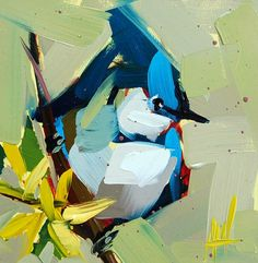 Blue Jay no. 20 Painting