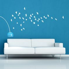wall decals | tweet flying birds stickers wall stickers from abode wall art