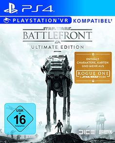 16d74d20507 Star Wars Battlefront - Ultimate Edition -  PlayStation 4   Amazon.de  Games