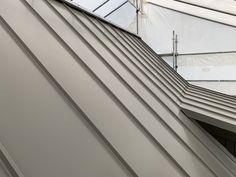 Standing seam Euramax Aluminium roof Aluminium Roof, Stairs, Detail, Home Decor, Stairway, Decoration Home, Room Decor, Staircases, Home Interior Design