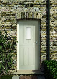 1 Pane Stable External Door | Hardwood stable door | External wooden door | Cottage style door - I love this door!