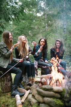 camping with girlfriends = priceless.