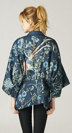 Embroidered Madeline Jacket // gorgeous detail #wearable_design