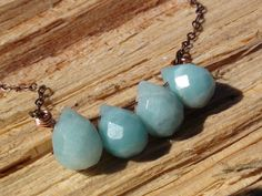 line up blue by jeweldesignsbyred on Etsy, $25.00