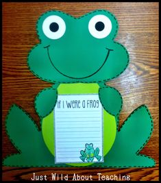 Just Wild About Teaching: Froggy Fun Mini Unit!