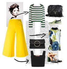 """""""It's Yellow """" by pmentari on Polyvore featuring Angelo, Marni, M Missoni, Gucci, Victoria Beckham, Proenza Schouler, women's clothing, women's fashion, women and female"""