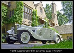 1935 Duesenberg SJN564 Convertible coupe by Rollston