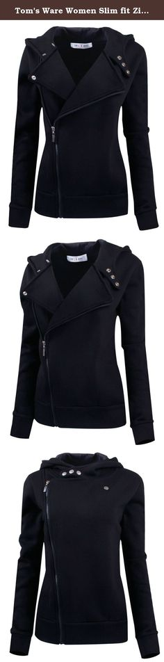 Tom's Ware Women Slim fit Zip-up Hoodie Jacket TWHD1003-BLACK-M. This is Fashion hoodie style from Tom's Ware Company. Made by 100% Cotton fabric with soften feeling in side , this style will make you feel soft and confortable when wearing, It is stylish and fashionable with 2 side pockets This slim fit hoodie jacket that is effortlessly stylish and pairable with just about everything, You can make it in different looks by openning the zipper or zip-up half or full. Definitely it will…