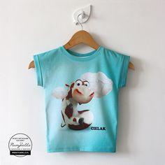 Cielaczek koszulka dla dzieci