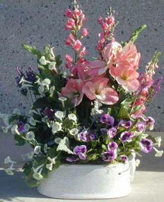 Large Silk Flower Arrangements | click on photos to view larger detail