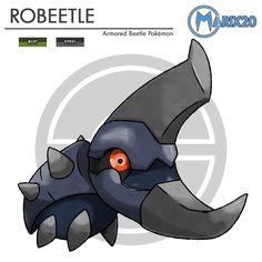 037 Robeetle - Fakemon