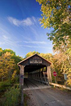 White's Bridge in Michigan