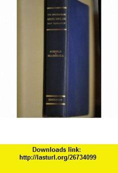 The Interlinear Greek-English New Testament The Nestle Greek Text with a Literal English Translation Alfred Marshall, J. B. Phillips ,   ,  , ASIN: B000RTPKBS , tutorials , pdf , ebook , torrent , downloads , rapidshare , filesonic , hotfile , megaupload , fileserve