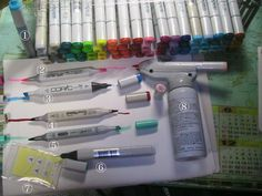 Copic Markers FAQ - great source of info especially for newbies