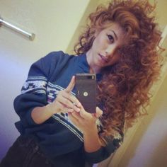 curly hair of girls | via Tumblr